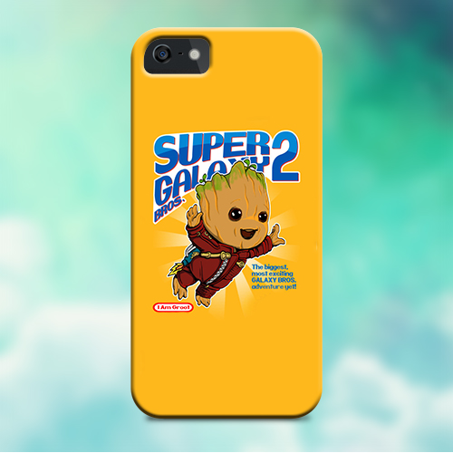Cover iPhone Guardiani Della Galassia Baby Groot Save The Galaxy ...